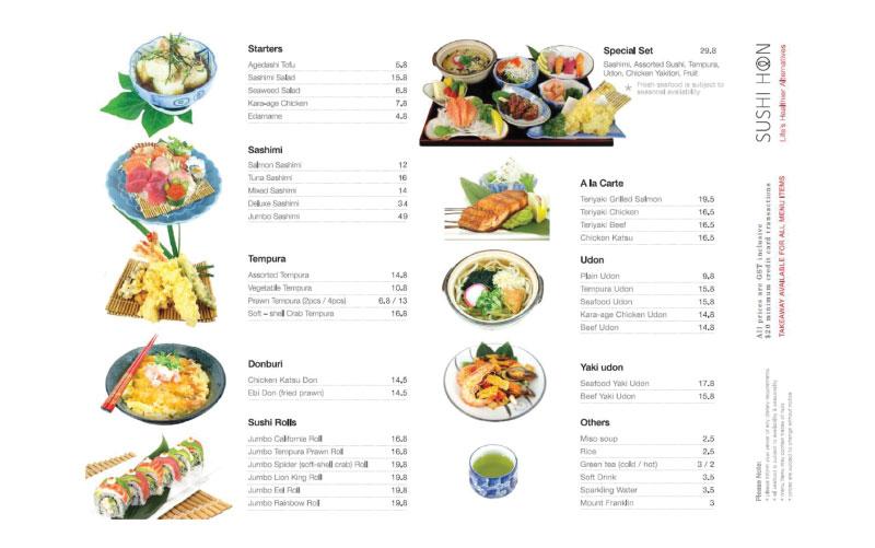 Sushi Hon Platter